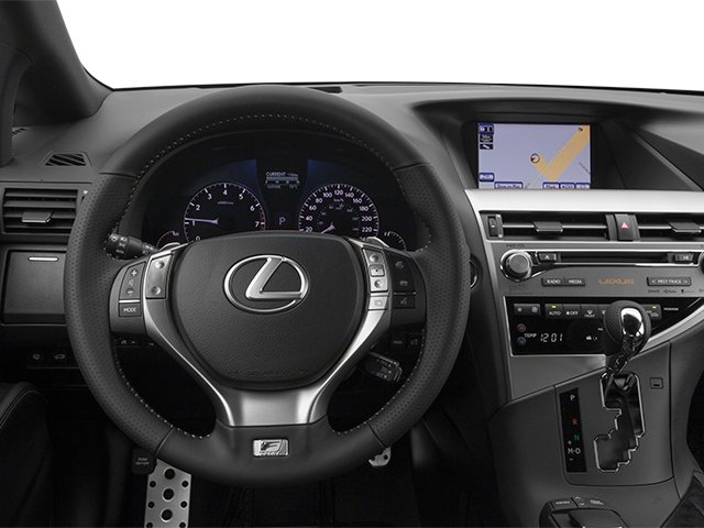 2014 Lexus RX 350 Prices and Values Utility 4D AWD V6 driver's dashboard