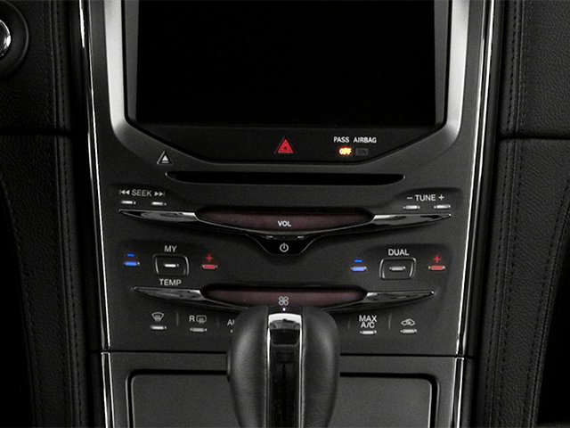 2014 Lincoln MKX Prices and Values Wagon 4D Elite 2WD stereo system