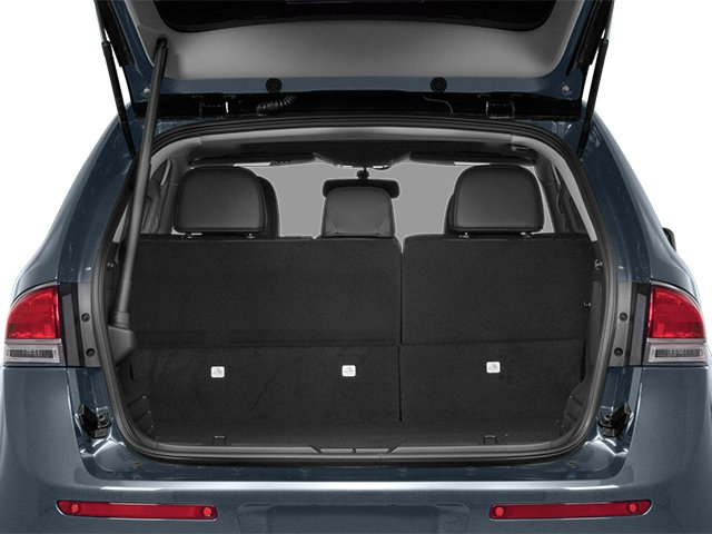 2014 Lincoln MKX Prices and Values Wagon 4D Elite 2WD open trunk