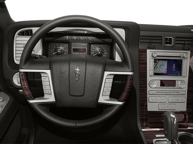 2014 Lincoln Navigator L Prices and Values Utility 4D 2WD V8 driver's dashboard