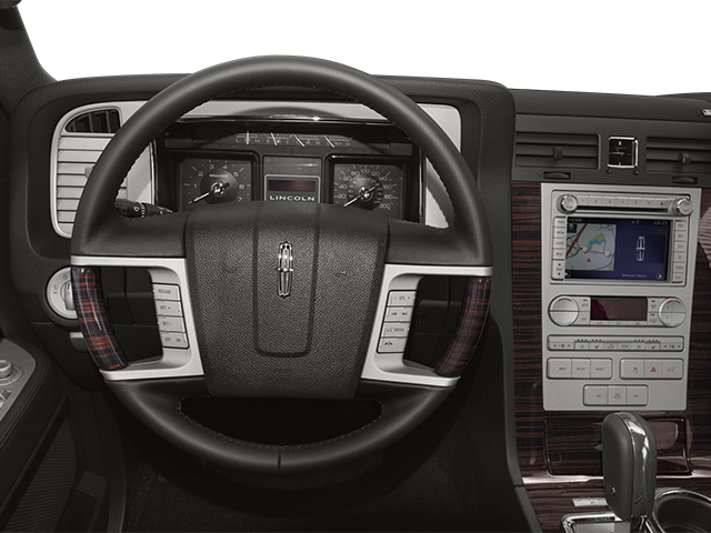 2014 Lincoln Navigator L Prices and Values Utility 4D 4WD V8 driver's dashboard