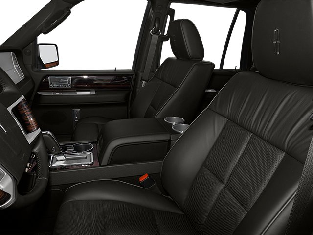 2014 Lincoln Navigator L Prices and Values Utility 4D 2WD V8 front seat interior