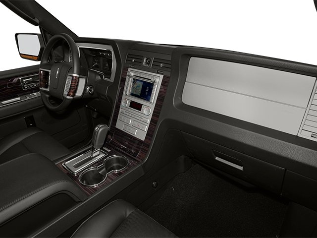 2014 Lincoln Navigator L Prices and Values Utility 4D 4WD V8 passenger's dashboard