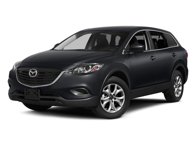 2014 Mazda CX-9 Pictures CX-9 Utility 4D Sport 2WD V6 photos side front view