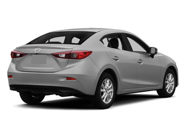 2014 Mazda Mazda3 Prices and Values Sedan 4D i SV I4 side rear view