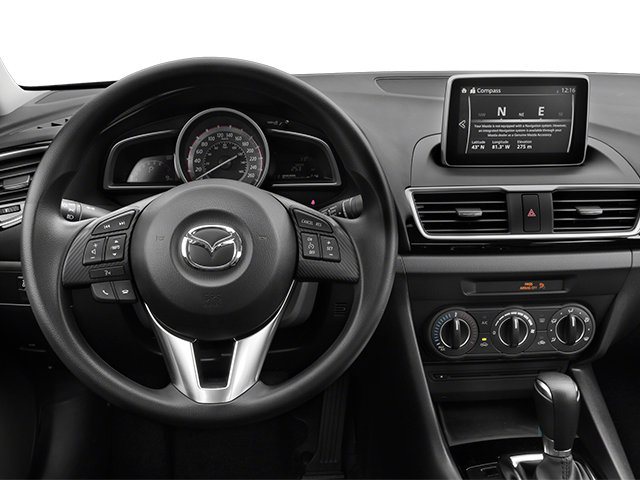2014 Mazda Mazda3 Prices and Values Sedan 4D i SV I4 driver's dashboard