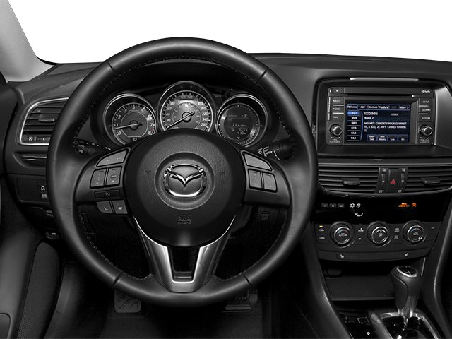 2014 Mazda Mazda6 Prices and Values Sedan 4D i Touring Tech I4 driver's dashboard