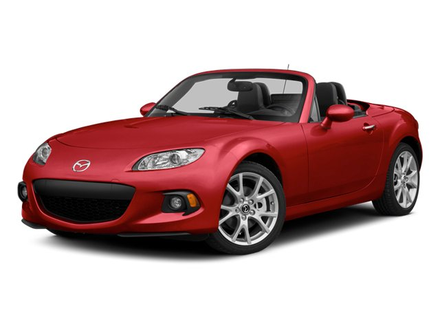 2014 Mazda MX-5 Miata Pictures MX-5 Miata Convertible 2D Club I4 photos side front view