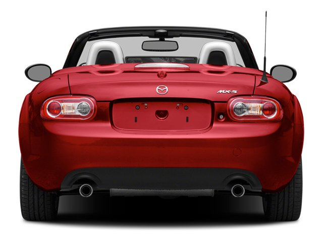 2014 Mazda MX-5 Miata Prices and Values Convertible 2D GT I4 rear view