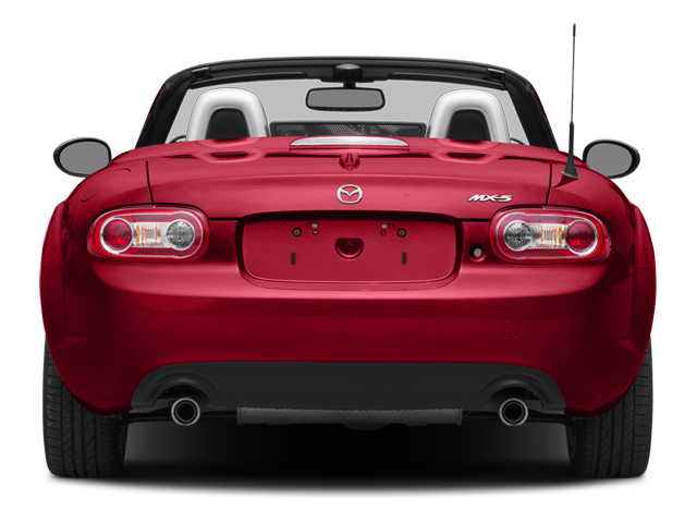 2014 Mazda MX-5 Miata Pictures MX-5 Miata Hardtop 2D Club I4 photos rear view