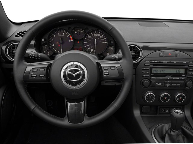 2014 Mazda MX-5 Miata Pictures MX-5 Miata Hardtop 2D Club I4 photos driver's dashboard