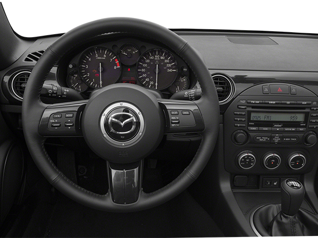 2014 Mazda MX-5 Miata Pictures MX-5 Miata Convertible 2D Sport I4 photos driver's dashboard