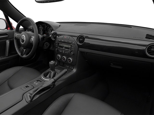 2014 Mazda MX-5 Miata Pictures MX-5 Miata Hardtop 2D Club I4 photos passenger's dashboard