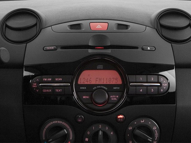 2014 Mazda Mazda2 Prices and Values Hatchback 5D Sport I4 stereo system