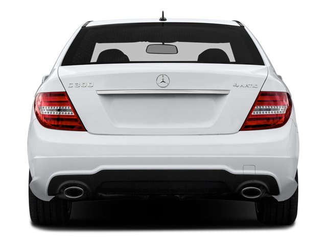2014 Mercedes-Benz C-Class Prices and Values Sport Sedan 4D C300 AWD rear view