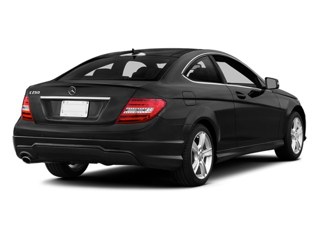 2014 Mercedes-Benz C-Class Prices and Values Coupe 2D C250 I4 Turbo side rear view