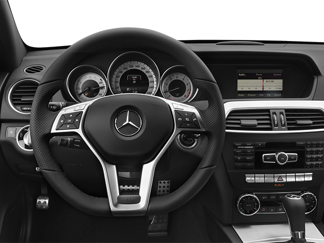 2014 Mercedes-Benz C-Class Prices and Values Coupe 2D C250 I4 Turbo driver's dashboard