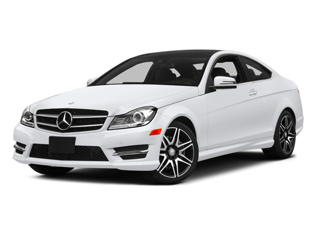 2014 Mercedes-Benz C-Class Prices and Values Coupe 2D C350 V6 side front view