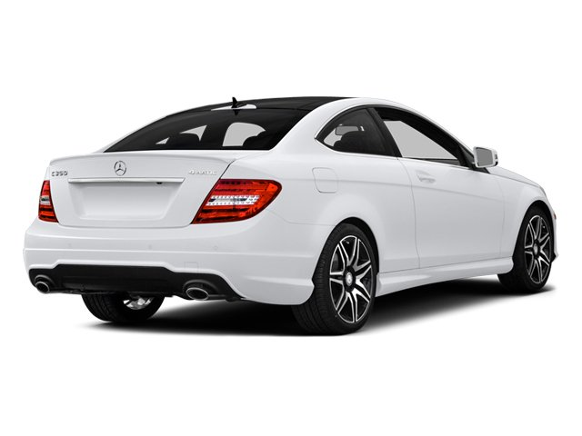 2014 Mercedes-Benz C-Class Prices and Values Coupe 2D C350 V6 side rear view