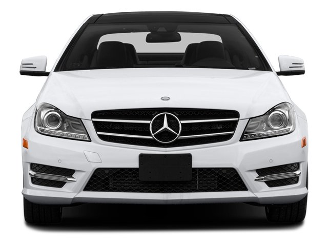 2014 Mercedes-Benz C-Class Prices and Values Coupe 2D C350 V6 front view