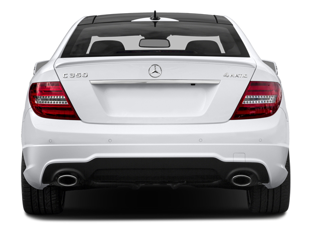 2014 Mercedes-Benz C-Class Prices and Values Coupe 2D C350 V6 rear view