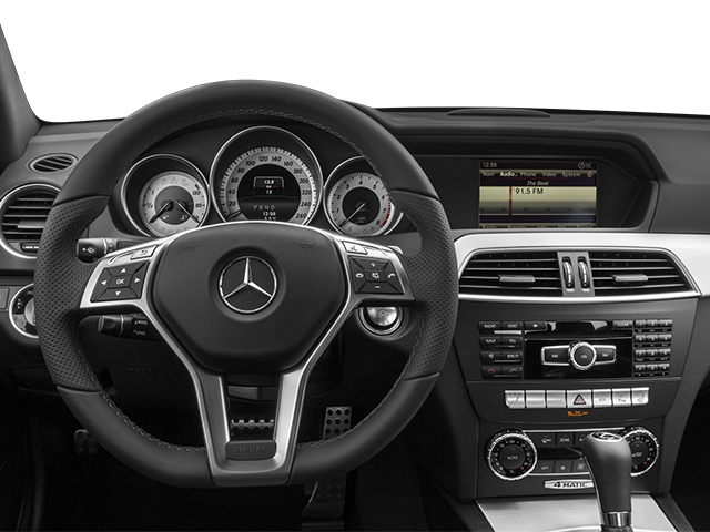 2014 Mercedes-Benz C-Class Prices and Values Coupe 2D C350 V6 driver's dashboard