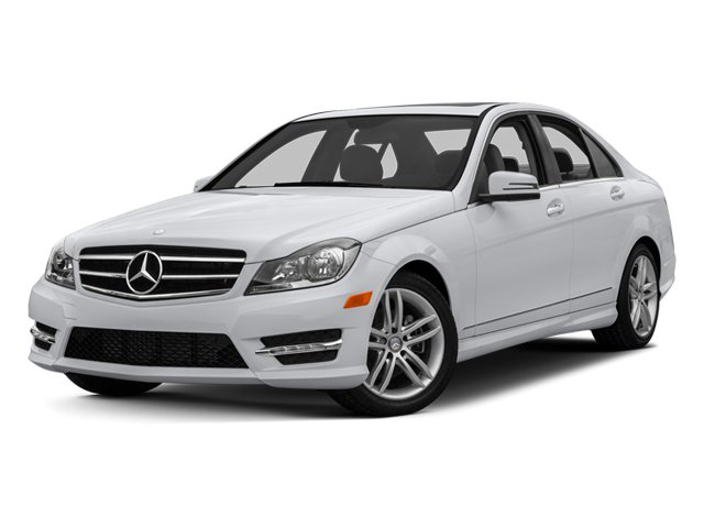 2014 Mercedes-Benz C-Class Prices and Values Sedan 4D C250 side front view