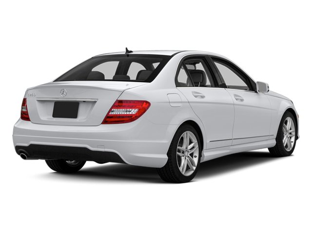 2014 Mercedes-Benz C-Class Prices and Values Sedan 4D C250 side rear view