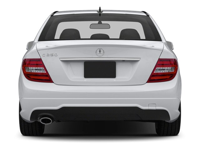 2014 Mercedes-Benz C-Class Prices and Values Sport Sedan 4D C250 rear view