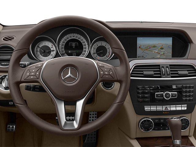2014 Mercedes-Benz C-Class Prices and Values Sedan 4D C250 driver's dashboard