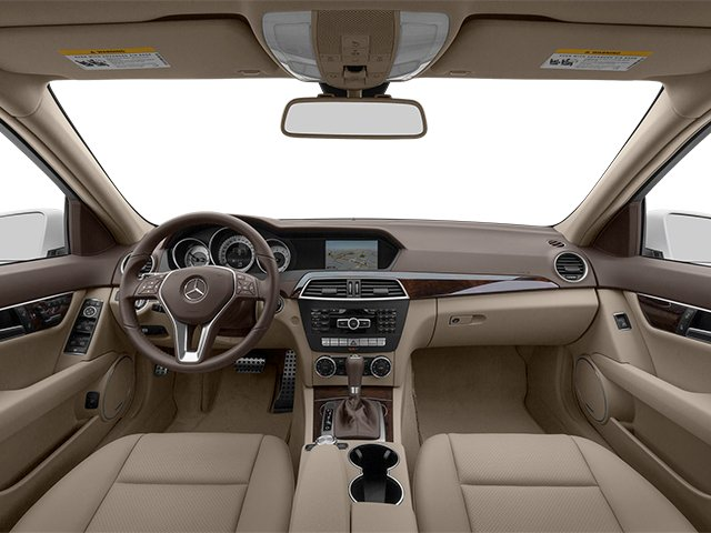 2014 Mercedes-Benz C-Class Prices and Values Sport Sedan 4D C250 full dashboard