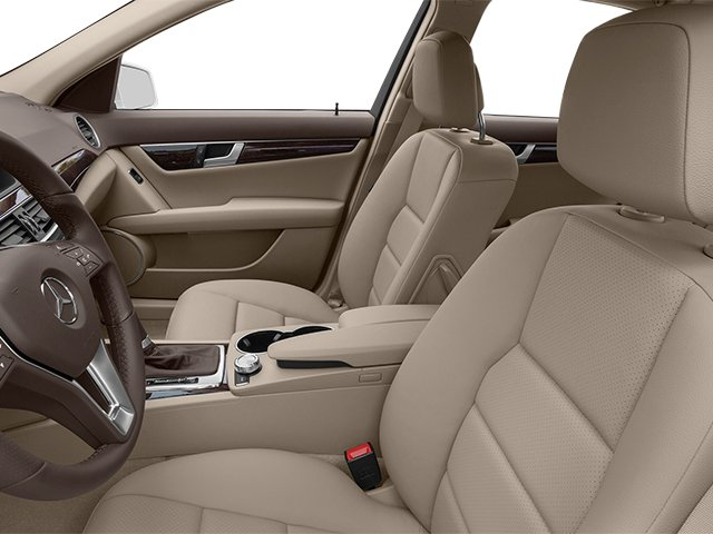 2014 Mercedes-Benz C-Class Prices and Values Sport Sedan 4D C250 front seat interior