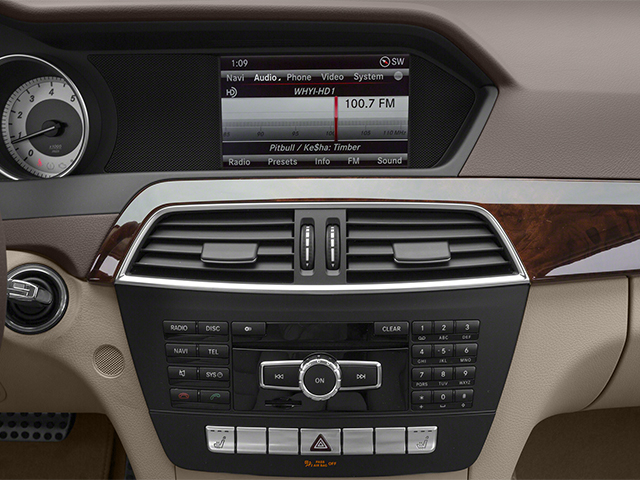 2014 Mercedes-Benz C-Class Prices and Values Sport Sedan 4D C250 stereo system