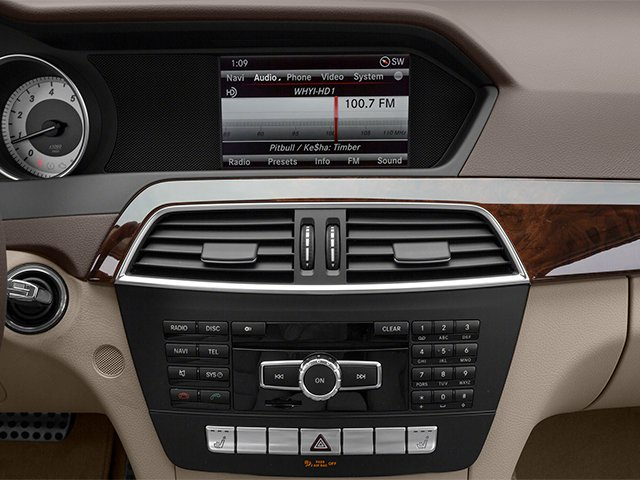 2014 Mercedes-Benz C-Class Prices and Values Sedan 4D C250 stereo system