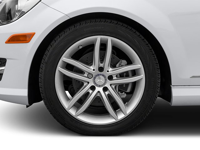2014 Mercedes-Benz C-Class Prices and Values Sport Sedan 4D C250 wheel