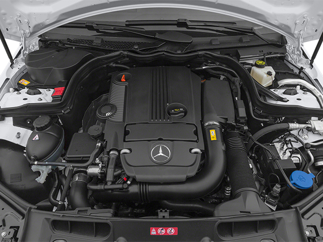 2014 Mercedes-Benz C-Class Prices and Values Sedan 4D C250 engine