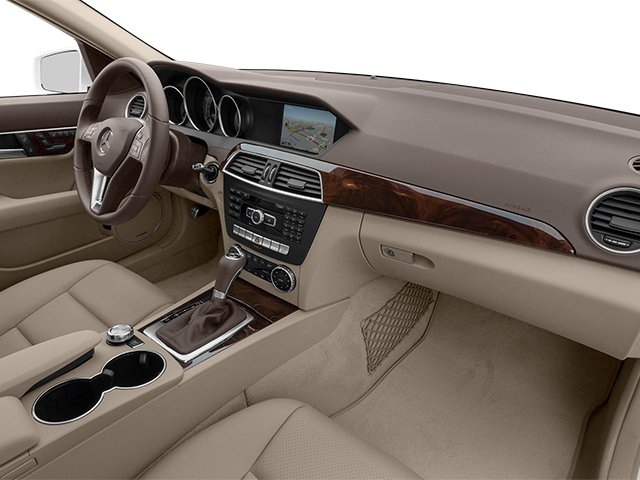 2014 Mercedes-Benz C-Class Prices and Values Sedan 4D C250 passenger's dashboard