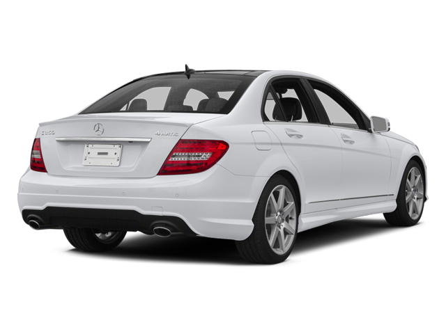 2014 Mercedes-Benz C-Class Prices and Values Sport Sedan 4D C350 side rear view