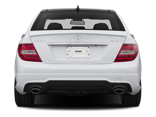 2014 Mercedes-Benz C-Class Prices and Values Sport Sedan 4D C350 rear view