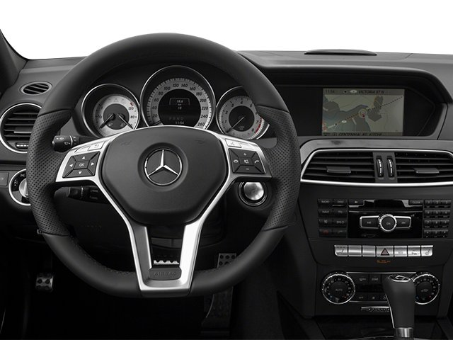 2014 Mercedes-Benz C-Class Prices and Values Sport Sedan 4D C350 driver's dashboard