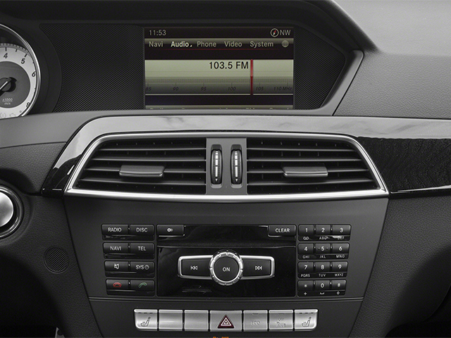 2014 Mercedes-Benz C-Class Prices and Values Sport Sedan 4D C350 stereo system