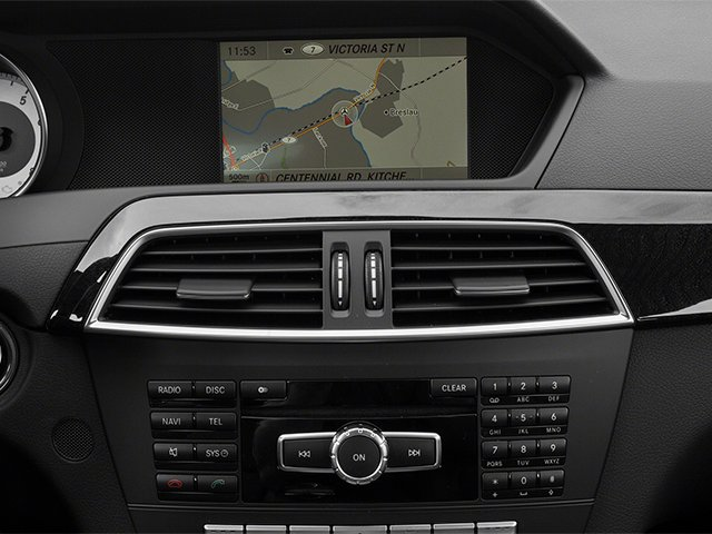 2014 Mercedes-Benz C-Class Prices and Values Sport Sedan 4D C350 navigation system