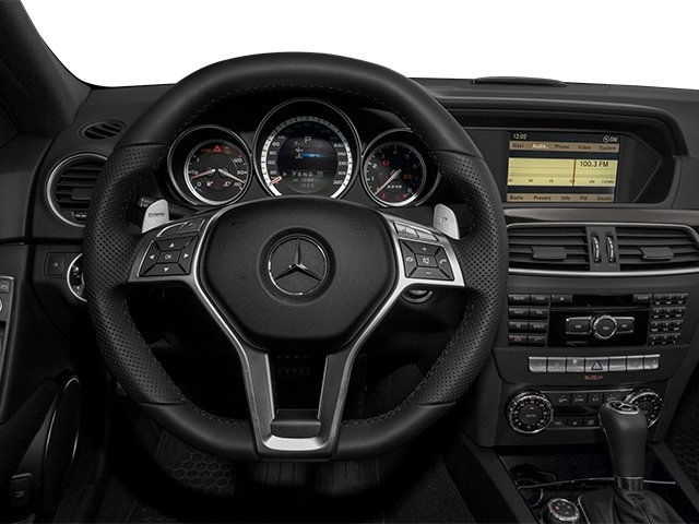 2014 Mercedes-Benz C-Class Pictures C-Class Sport Sedan 4D C63 AMG photos driver's dashboard