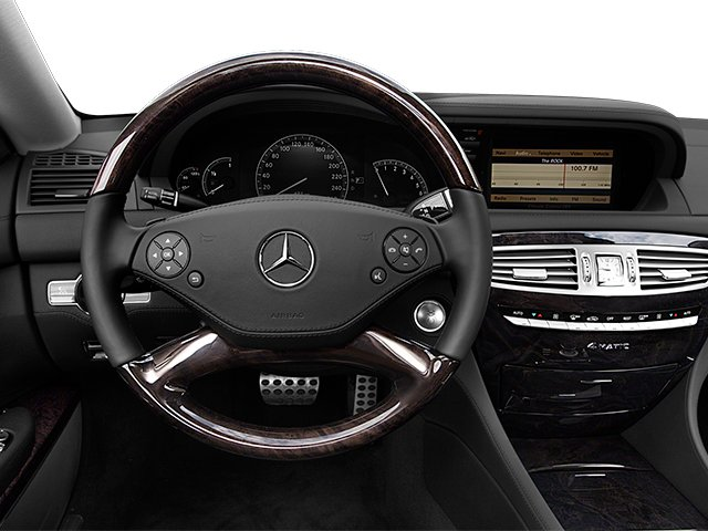 2014 Mercedes-Benz CL-Class Pictures CL-Class Coupe 2D CL550 AWD V8 Turbo photos driver's dashboard
