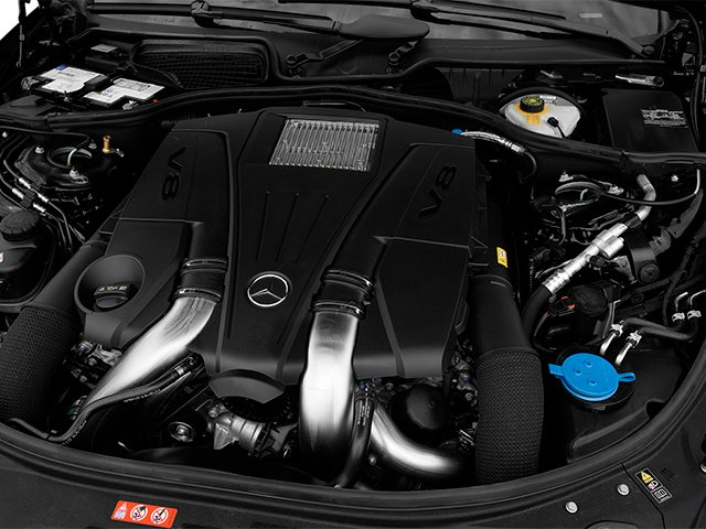 2014 Mercedes-Benz CL-Class Pictures CL-Class Coupe 2D CL550 AWD V8 Turbo photos engine