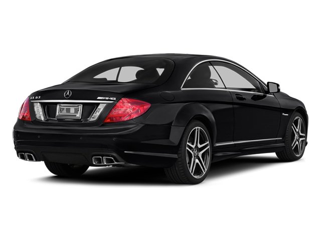 2014 Mercedes-Benz CL-Class Prices and Values 2 Door Coupe side rear view