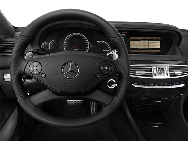 2014 Mercedes-Benz CL-Class Prices and Values 2 Door Coupe driver's dashboard