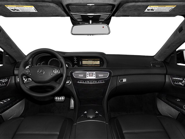 2014 Mercedes-Benz CL-Class Prices and Values 2 Door Coupe full dashboard