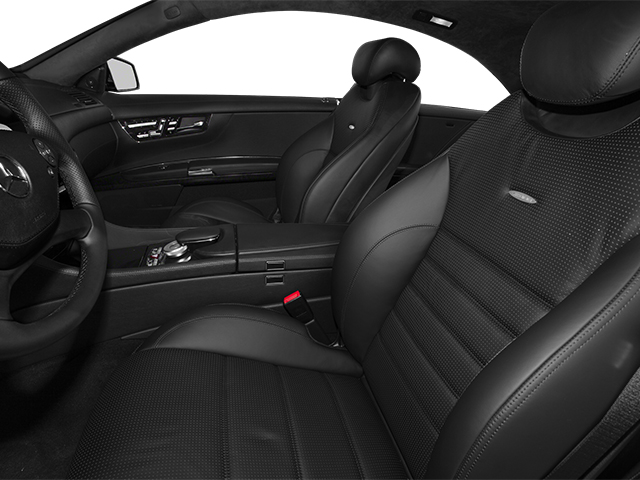 2014 Mercedes-Benz CL-Class Prices and Values 2 Door Coupe front seat interior