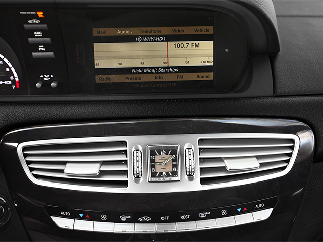 2014 Mercedes-Benz CL-Class Prices and Values Coupe 2D CL63 AMG V8 Turbo stereo system